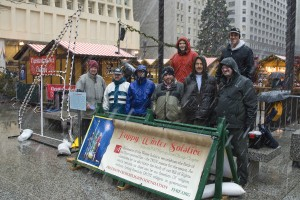 FFRFMCC Non-Theist Holiday Displays Erected Again in the Chicago Area!