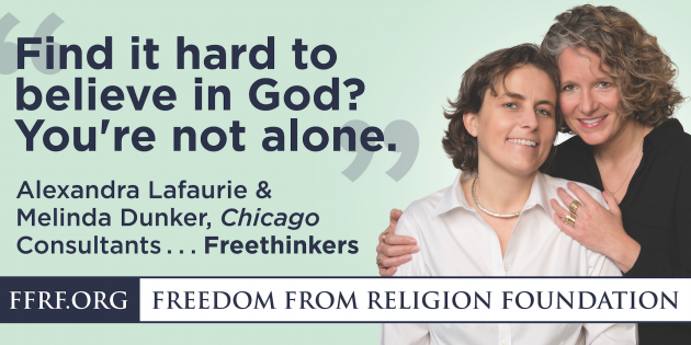 "FFRF and the FFRFMCC Launch ""Out-of-the-Closet"" Billboard Campaign in Chicago!"
