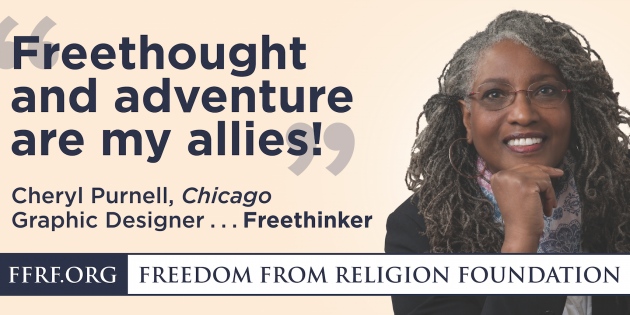 "Wave 3 of the Chicago FFRF ""Out-of-the-Closet"" Billboard Campaign Is Now Appearing in Chicago!"