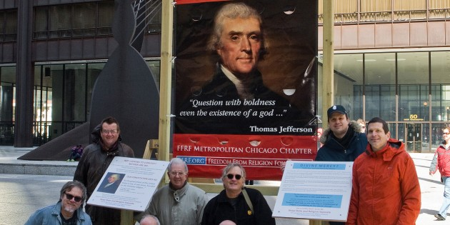 FFRF Calls for State/Church Separation in Chicago's Daley Center Plaza