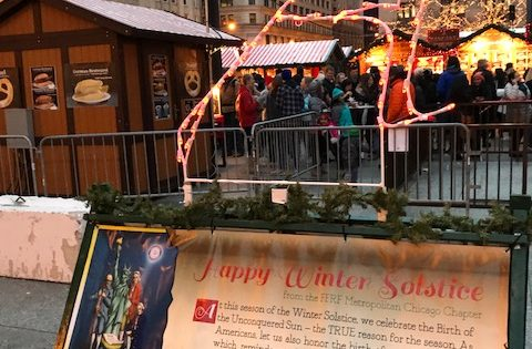2017 FFRFMCC Non-Theist Winter Holiday Displays Proudly Share The Secular Voice!